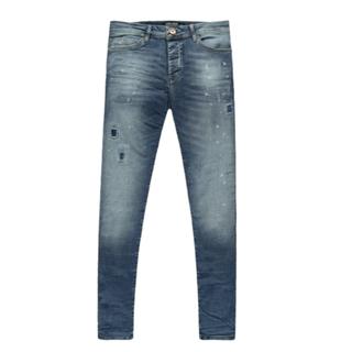 Dark used skinny jeans Aron