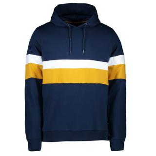 Donkerblauwe hoodie Jefferson