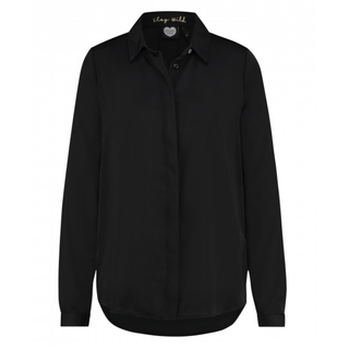 Zwarte blouse Florance