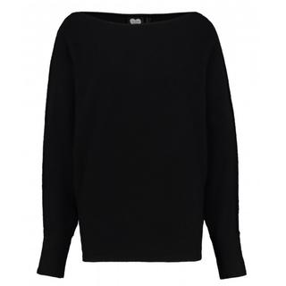 Zwarte trui Batsleeve