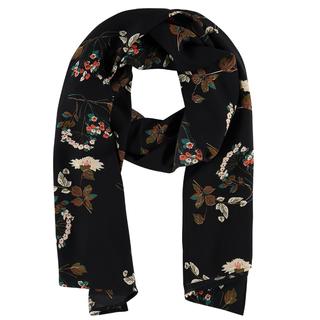 Zwart geprinte sjaal Horsechestnut