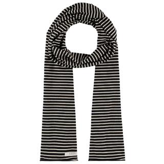 Zwart geprinte sjaal Lavender