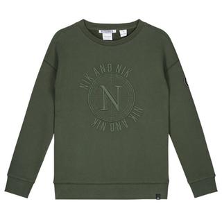 Legergroene sweater Abel