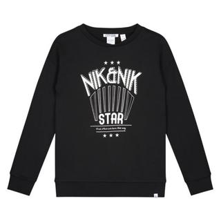 Zwarte sweater Nik Star