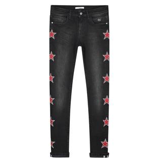 Zwarte spijkerbroek Fiona Star