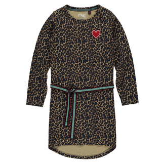 Leopard geprinte jurk Tamia