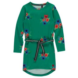 Groen geprinte jurk Tamia