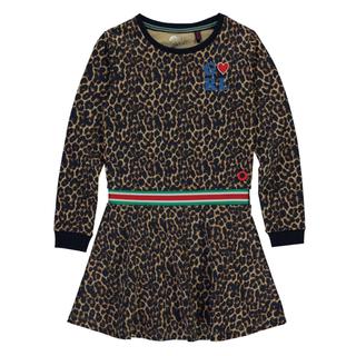 Leopard geprinte jurk Tacey