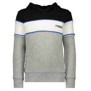 Zwart gestreepte sweater 6310