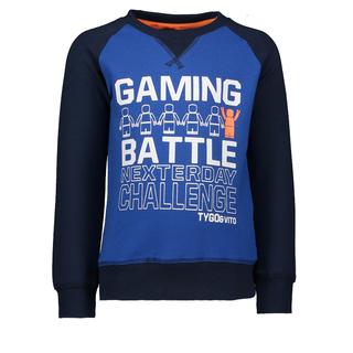 Blauwe sweater 6302