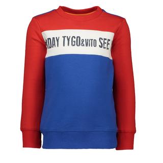 Rood gestreepte sweater 6307