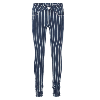Striped skinny jeans 2122