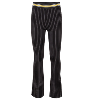 Striped flare broek 2261