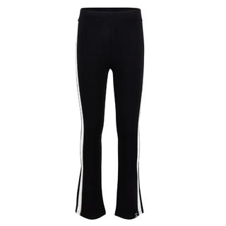 Zwarte flare broek 2251