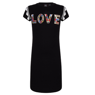 Zwarte jurk 3170