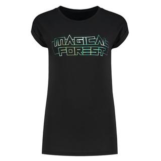 Zwart t-shirt Magical Forest