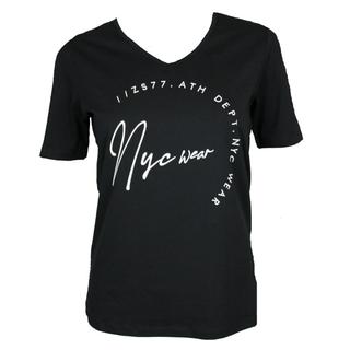 Zwart t-shirt Mabel