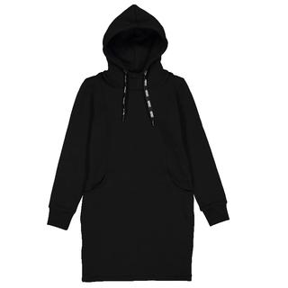 Zwarte hoodie jurk Felicity