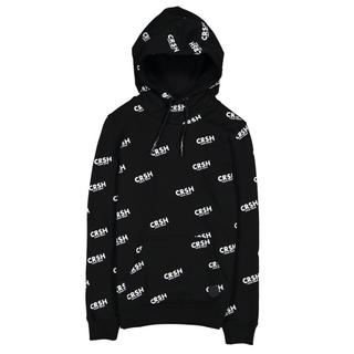 Zwart geprinte hoodie Finn