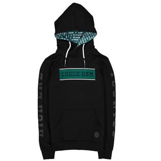 Zwarte hoodie Wesley