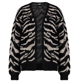 Bruin vest Fuzzy Tiger