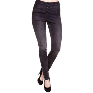 Zwarte jeans Leona