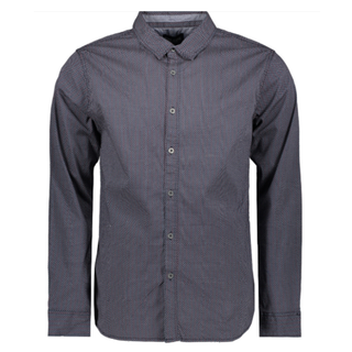 Zwart geprint shirt Sady