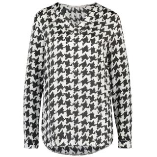 Wit geprinte blouse Merida Pied