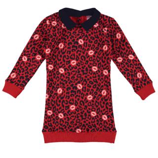 Rode jurk Oukje