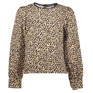 Leo geprinte blouse Lucy