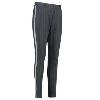 Donkergrijze broek Flo Stripe