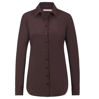 Bruine blouse Poppy
