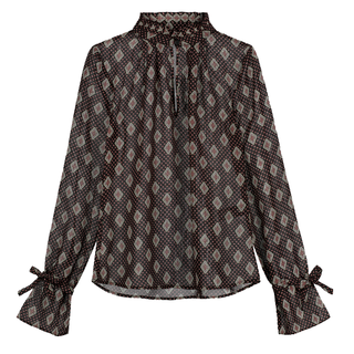 Bruine blouse Rianna