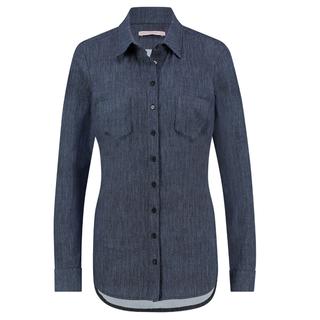 Blauwe blouse Poppy Denim