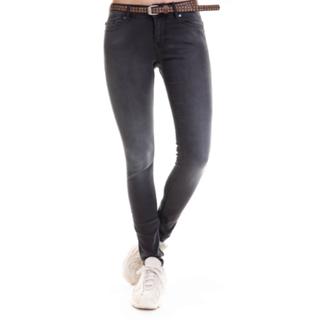 Donkergrijze jeans Daffy