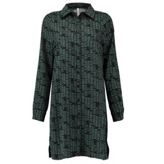 Groen geprinte blouse Eefje
