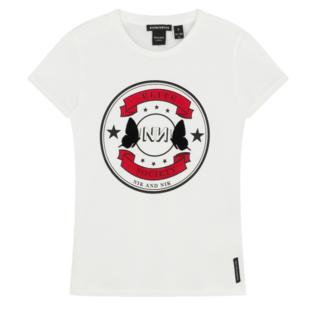 Wit t-shirt Kiki