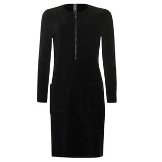 Zwarte jurk 933263