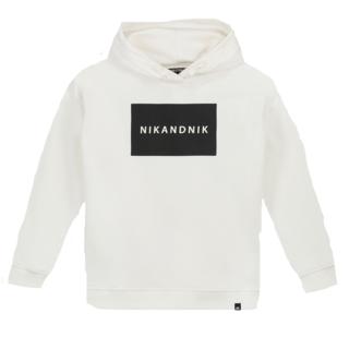 Witte hoodie Koen