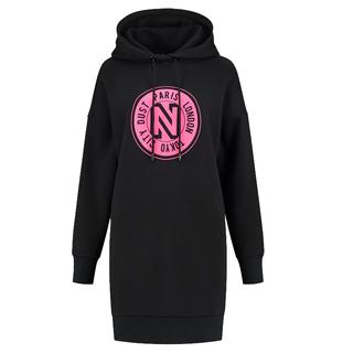 Zwarte hoodie jurk Nikkie