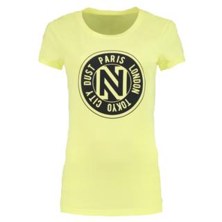 Geel t-shirt Nikkie Logo