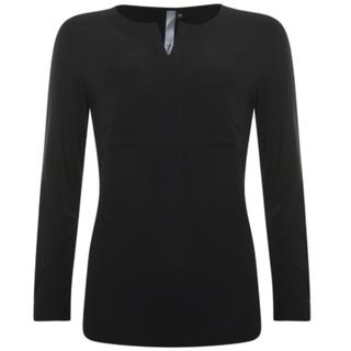 Zwarte plain blouse 933116