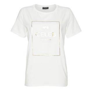 Wit t-shirt Cela