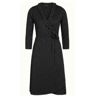 Zwarte jurk Abby Little Dots