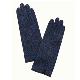 Blauwe handschoenen Africa