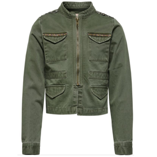 Armygroene jacket Liva