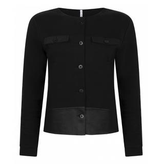 Zwarte sweatjacket Strong