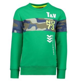 Groene sweater 6326