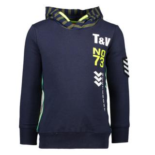 Donkerblauwe sweater 6331
