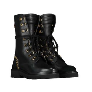Zwarte boots Eyelets